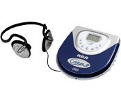 RCA RP2415 Personal CD MP3 Player with Car Kit