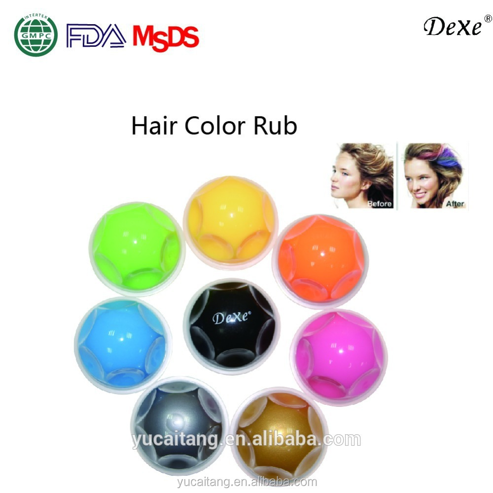 Dexe Hair Chalk Hair Color Tong Highlight Your Hair In The Party