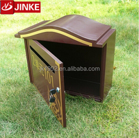 rural area stainless steel locking office mail letter box/suggestion box