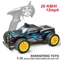 1:16 scale 2.4GHz li-ion battery radio control high speed rc toy car