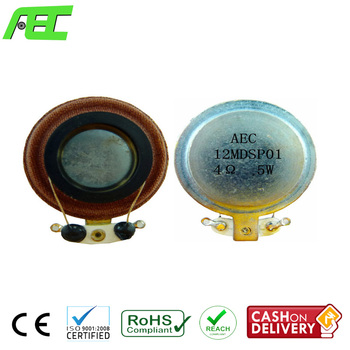 Free Samples 33mm Small Sound Speaker Driver 4ohms 5w Audio Exciter  Speaker, View audio exciter speaker, AEC audio exciter speaker Product  Details