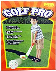 DDI - Golf Pro Inflatable Golf Club & Ball (1 pack of 12 items)