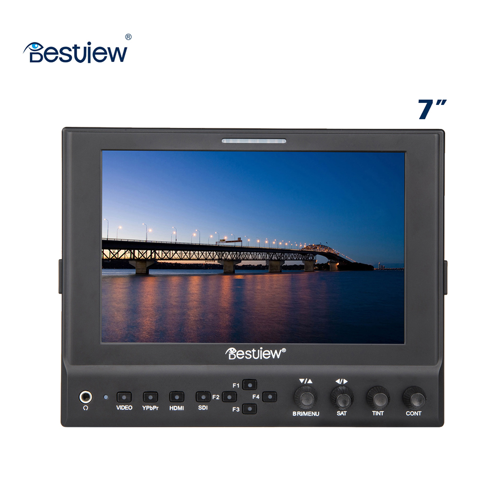 Bestview 7 inch Professional Video On Camera HDMI Monitors High Resolution