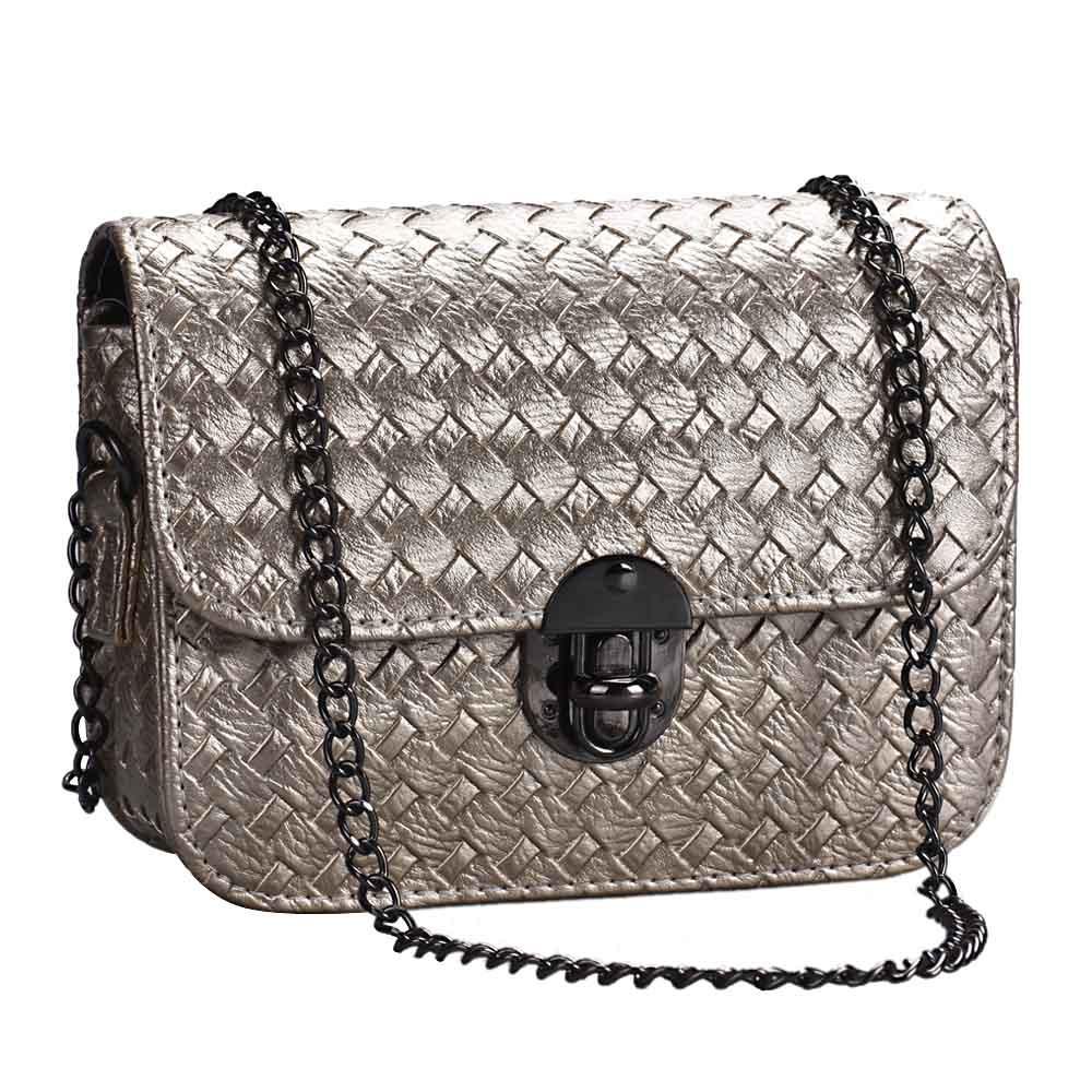 3d06068ea1 Wholesale New Brand 2015 Fashion Women Girl Leather Mini Small Woven ...