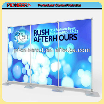 custom poster standee banner stand poster frame