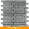 Artificial grey quartz tile, sparkle quartz mosaic tile