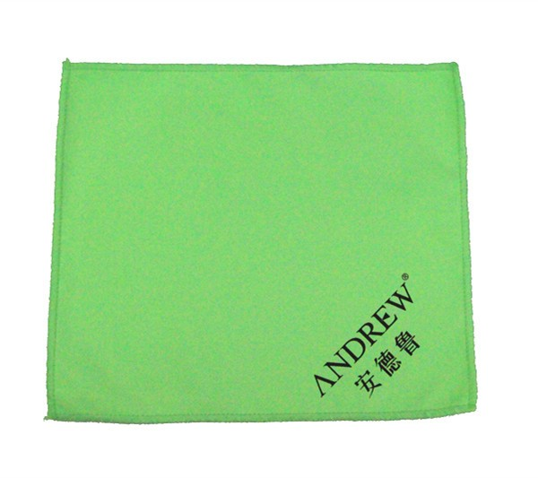 80% polyester and 20% polyamide microfiber table cleaning cloth