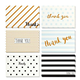 Fancy design greeting cards invitation cards thank you foldable cards with envelope packed in box