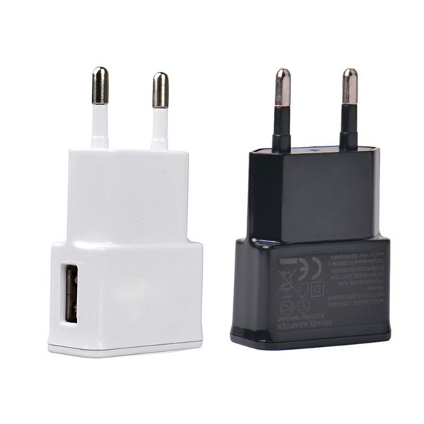 5V 1A Eu Plug Usb Wall Charger Adapter Universal Home Travel USB Charger For Iphone Samsung Galaxy S5 S4 S3 Note 2 3 HTC Xiaomi