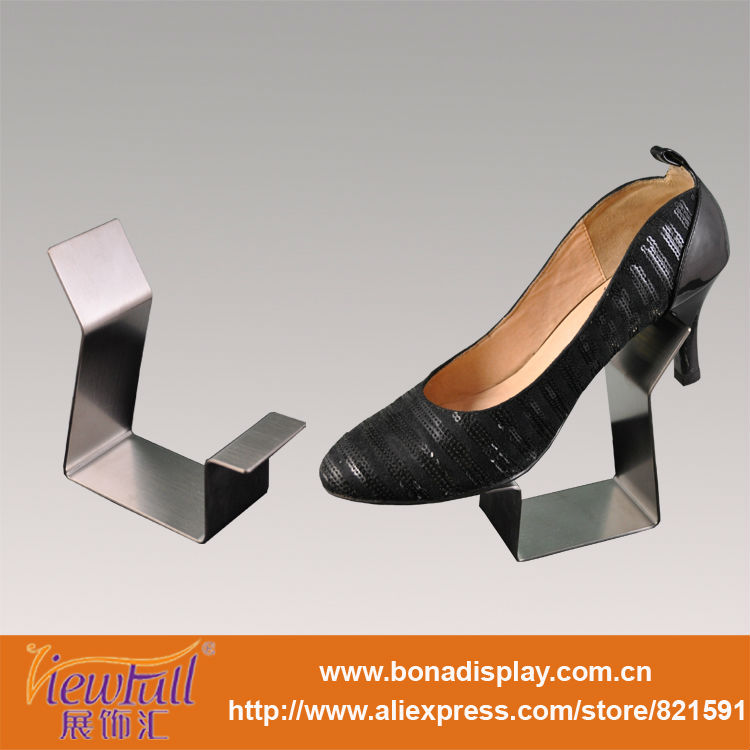 outlet factory shoe display stands metal