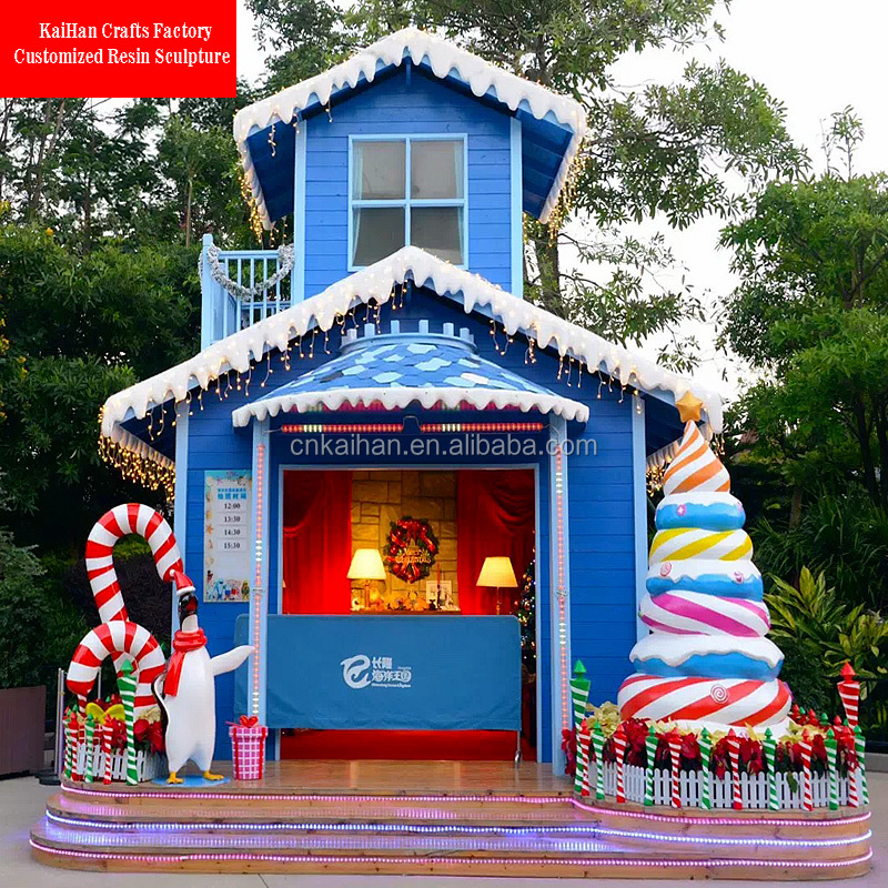fiber large outdoor christmas decorations giant candy cane