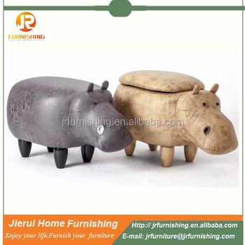 Muebles Para El Hogar Hippo Forma Zapatos Cambiar Las Heces/escabel ...