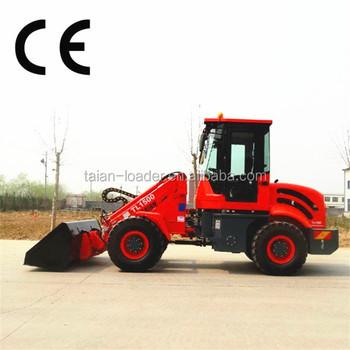 John Deere Front End Loader Small Garden Tractor Loader Backhoe 1 5 Ton Tl1500 Wheel Loader Ce