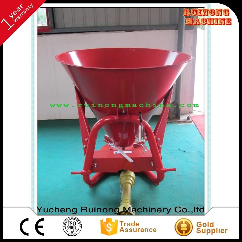 3 point linkage pto driven tractor tractor fertilizer manure spreader with cheap price