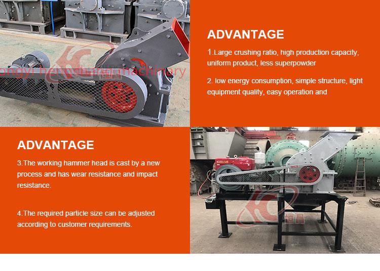 feine Größe 3mm Diesel Generator mobile Hammermühle Glas Cruher Preis