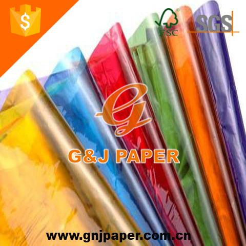 Transparent De Qualité supérieure Papier Cellophane Emballage de Bonbons