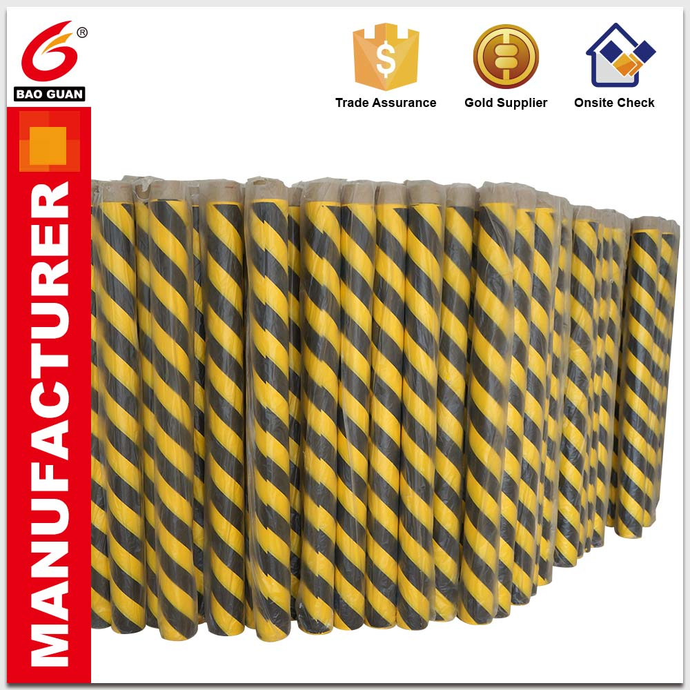 Can withstand high flow foot Underground detectable warning tape marking barricade tape