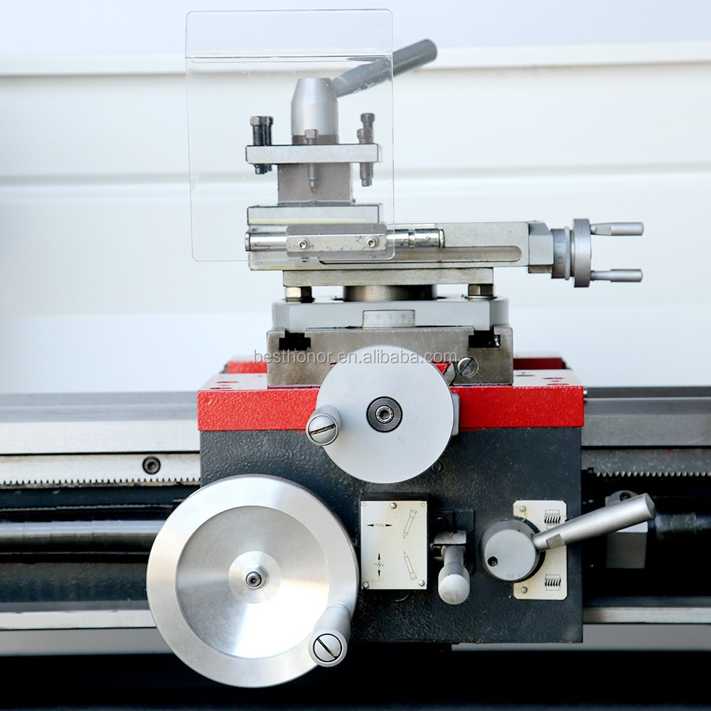 Variable Speed Bench Metal Lathe Machine With Big Spindle