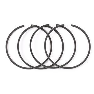China manufacturer Iron and steel motorcycle piston ring 76mm