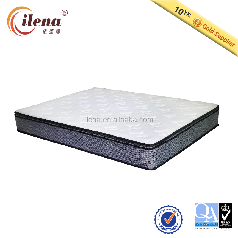 (IL4-A1022DP)-Rollable bonnell spring foam mattress in Dongguan