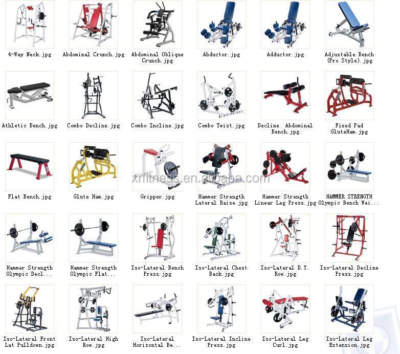 Hammer Strength Fitness Equipment Names Super Horizontal Calf H35