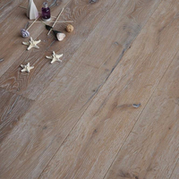 Worn Grey Oak Engineered Wood Flooring factory price