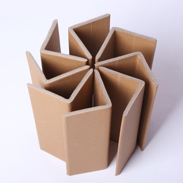 पुनर्नवीनीकरण एल-आकार फूस गत्ता V आकार गत्ते का डिब्बा कोने कागज कोण बोर्ड रक्षक पैकेजिंग कोनों
