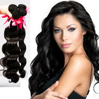 Valentines day gifts blossom bundles Brazilian virgin hair 7A