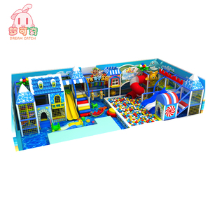 Used kids play games children indoor playground big slides for sale