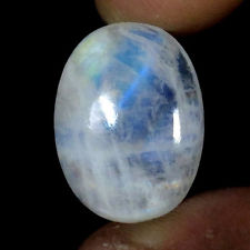 Semi Precious Rainbow moon stone 10x12 mm Oval Cabochone Wholesaler Manufacturer
