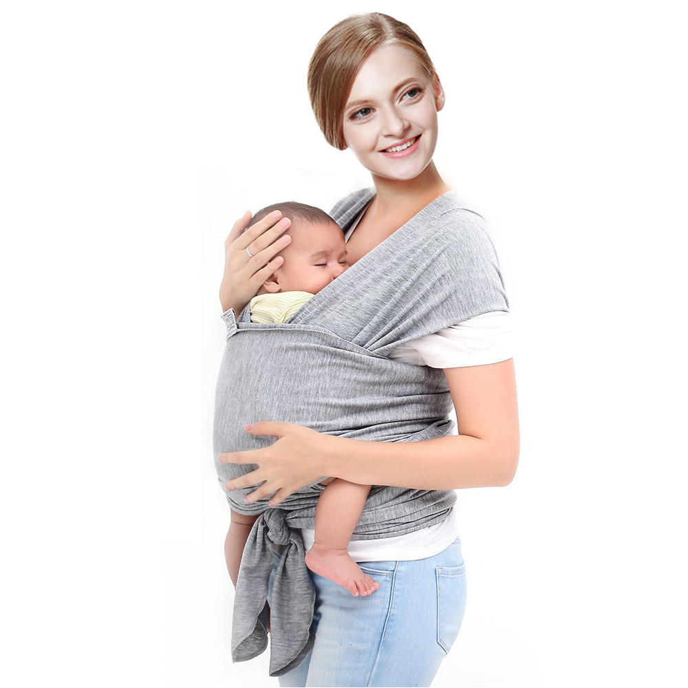 Baby Sling Wrap Cotton Baby Wrap Ring Sling Baby Wrap Carrier Sling