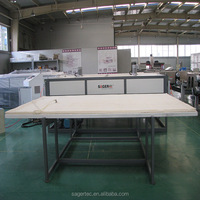 Factory offer building glass material making machinery