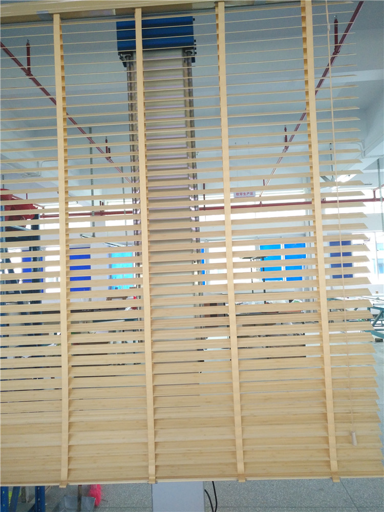 China the lowest price best quality wooden/bamboo blinds