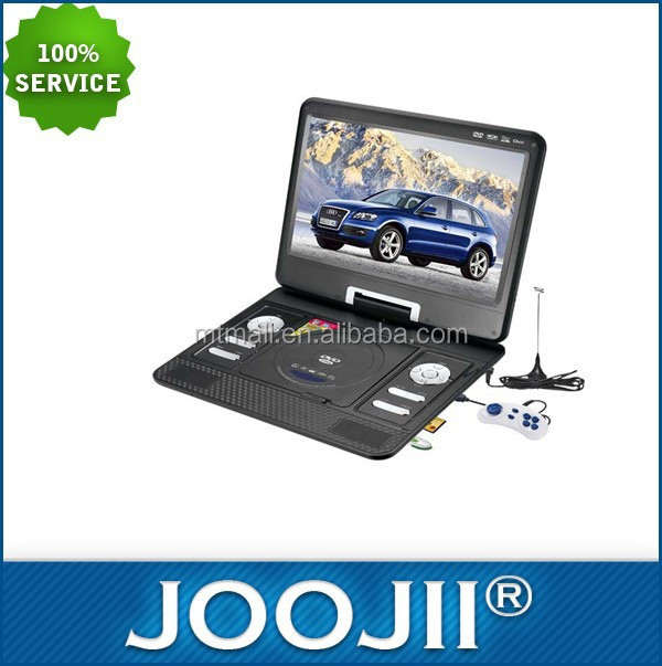 Portable 13.3inch DVD player with FM Radio