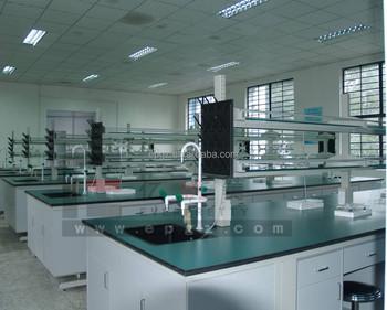 Banco Di Lavoro Per Laboratorio Chimico : Resistente agli acidi tavolo da laboratorio con lavelli