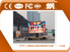 bus led sign P8 wireless taxi led top light display/P8 mobile led billboard trailer