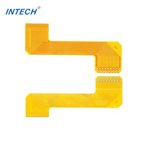 4 layers semi flexible PCB manufacturing / fr4 flex Circuit Board for  Telecommunication