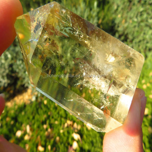 Natural Crystal Citrine Point Fengshui Crystal point prisms