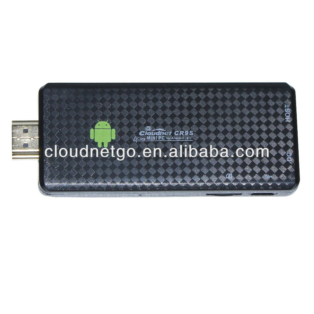 China New model Google Full HDMI RK3188 Android Wifi Quad core Mini PC Android 4.4HDMI android smart TV stick
