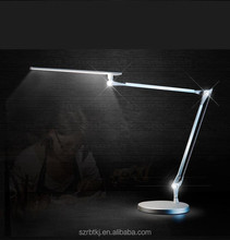 American Style bedroom dimmable study lamp swing arm desk lamp