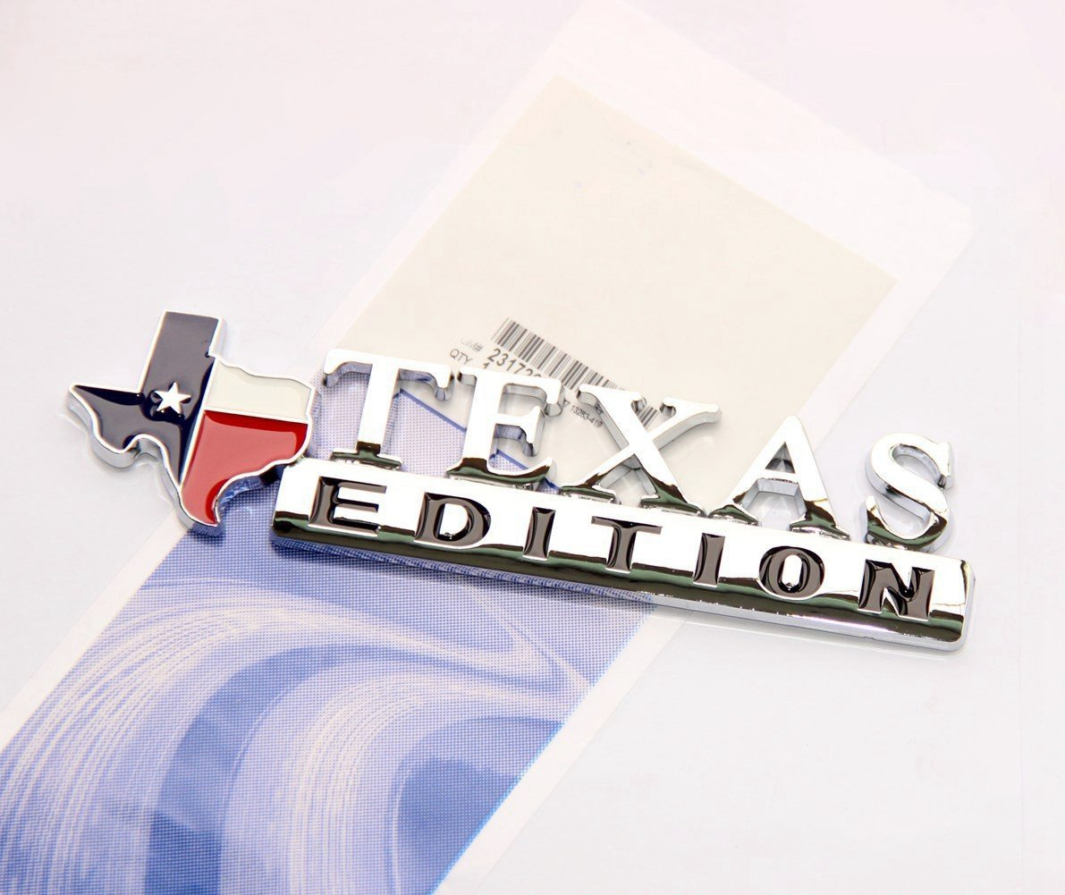 OEM GM TEXAS EDITION EMBLEM BADGE DASH INSTRUMENT PANEL SILVERADO GM# 25912614