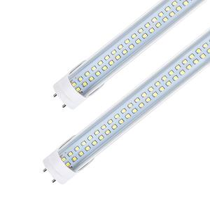 4Ft Double row T8 Led Tube Light With FA8 28W 2500 2800lm 1200mm 85 - 265V 2700 - 6500K Aluminum PC Good heat dissipation