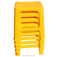 China made stackable student plastic school student stool