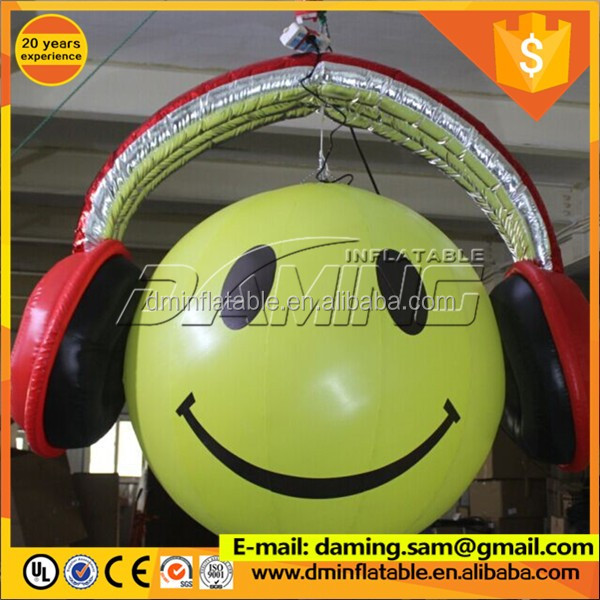 Inflatable hanging neon inflatable shape ball