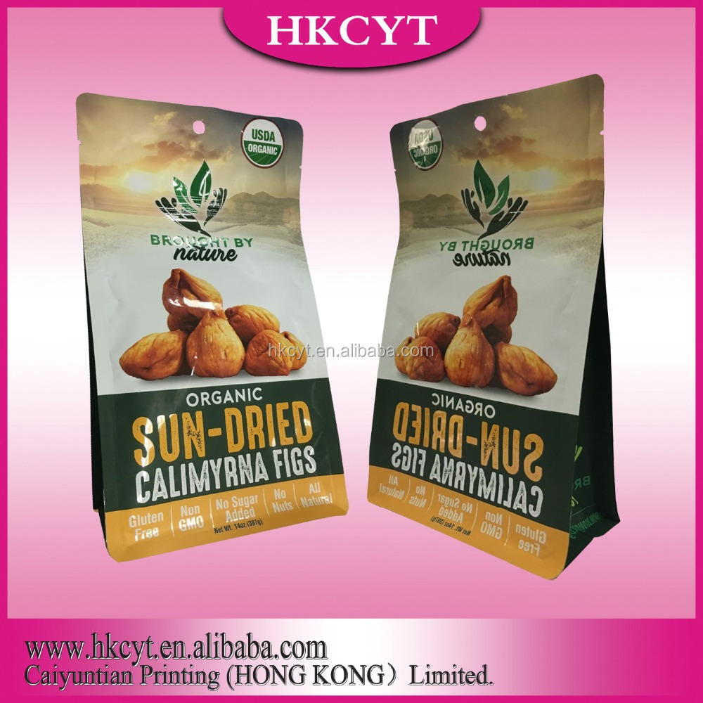 Aluminum foil laminated dried fruits doypack packaging bags