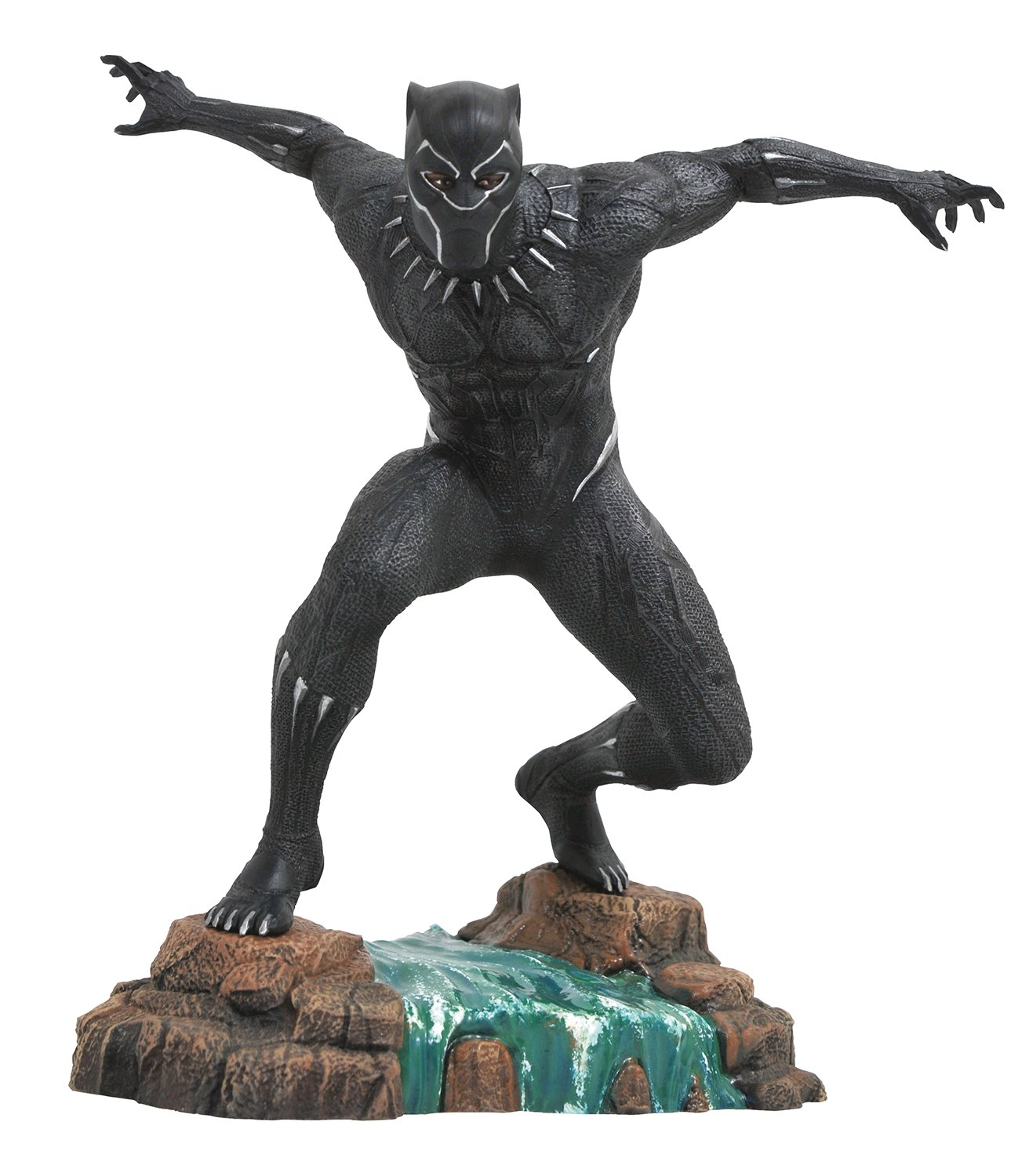Diamond Select Toys Marvel Gallery: Black Panther Movie Pvc Vinyl Figure