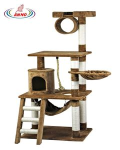 Solid Wood Cat Tree Supplier Furniture Factory Cheap Cat Tree Premium Cat Tree