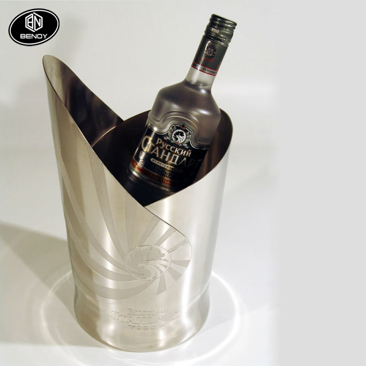 RUSSIAN STANDARD VODKA Bottle Cooler Ice bucket for bar or ktv use