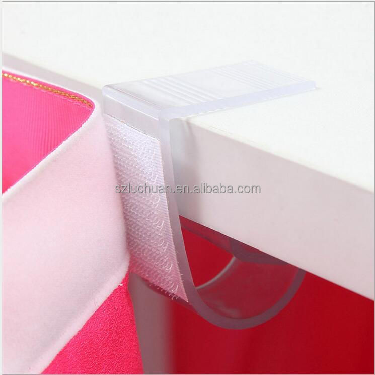 High Quality Plastic Velcro Table Skirt Clips