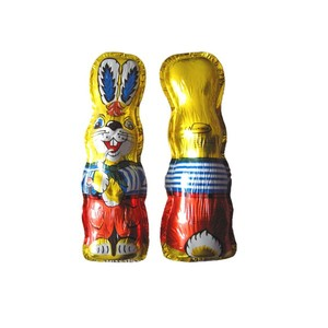 rabbit moulding chocolate packaging foil